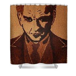 Great Mustafa Kemal Ataturk  Shower Curtain