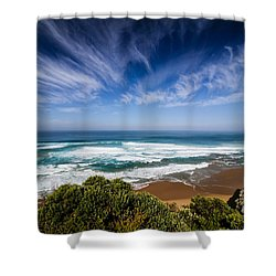 Great Ocean Road Shower Curtain
