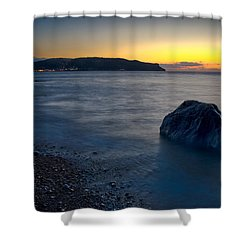 Great Orme, Llandudno Shower Curtain