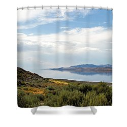 Great Salt Lake Shower Curtain
