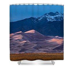 Great Sand Dunes  Colorado Shower Curtain by Steve Gadomski