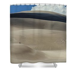 Great Sand Dunes National Park II Shower Curtain by Greg Reed