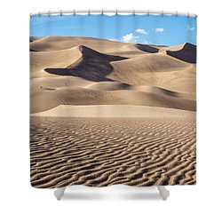 Great Sand Dunes National Park In Colorado Shower Curtain