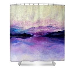 Great Smoky Lakeside Shower Curtain