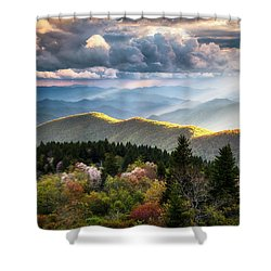Great Smoky Mountains National Park - The Ridge Shower Curtain