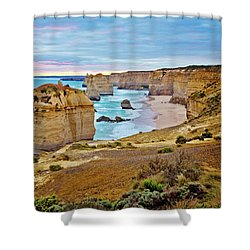 Shower Curtain featuring the photograph Great Southern Land by Az Jackson