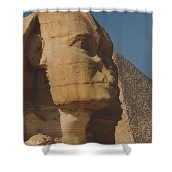 Great Sphinx Of Giza Shower Curtain