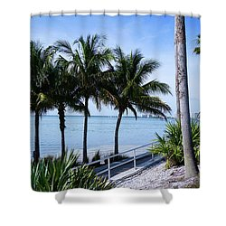 Great View Shower Curtain