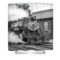Great Western 90 Boiler Blow Down 2 Shower Curtain