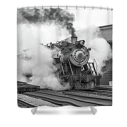 Great Western 90 Boiler Blow Down Shower Curtain