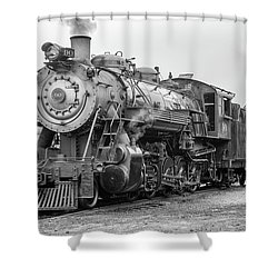 Great Western 90 Servicing Shower Curtain