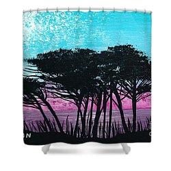 Grecian Sunset Shower Curtain