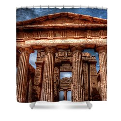 Temple Of Concord  Shower Curtain