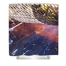 Green Chile Roast Shower Curtain