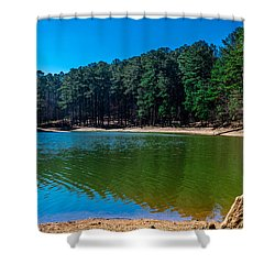 Green Cove Shower Curtain