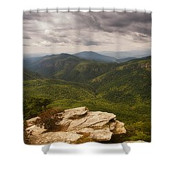 Green Gorge Shower Curtain