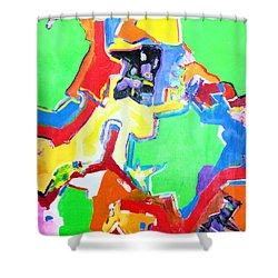 Green Island Shower Curtain