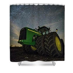 Shower Curtain featuring the photograph Green Machine  by Aaron J Groen