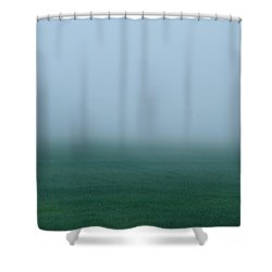 Green Mist Wonder Shower Curtain
