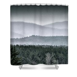 Green Mountain National Forest - Vermont Shower Curtain by Brendan Reals