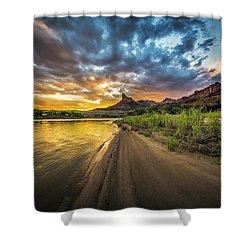 Green River, Utah 2 Shower Curtain