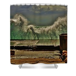 Shower Curtain featuring the photograph Green Screen by Craig Wood