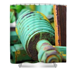Green Spring Shower Curtain