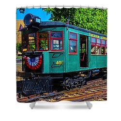 Green Tucson Cornelia And Gila Bend R R Shower Curtain