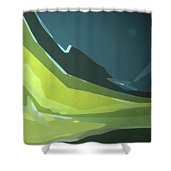 Green Valley Shower Curtain