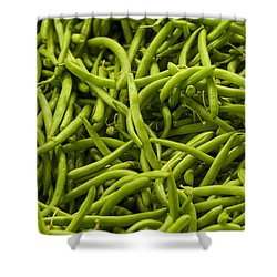 Greenbeans Shower Curtain
