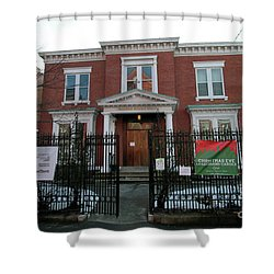 Greenpoint Reformed Church Shower Curtain
