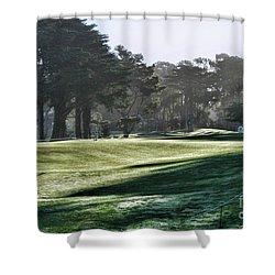 Greens Golf Harding Park San Francisco  Shower Curtain