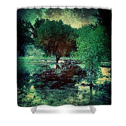 Greenscape Shower Curtain