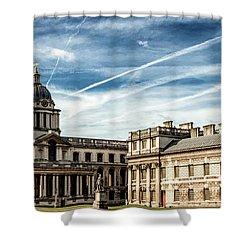 Greenwich University Shower Curtain