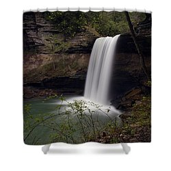 Greeter Falls Shower Curtain