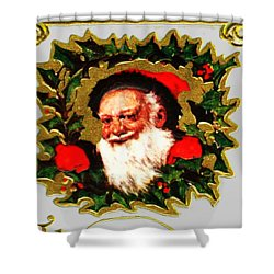 Greetings From Santa Shower Curtain
