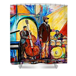 Gregory Porter And Band Shower Curtain