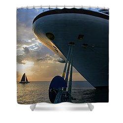 Grenada Sunset Shower Curtain
