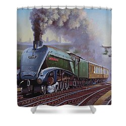 Gresley Pacific A4 Class. Shower Curtain