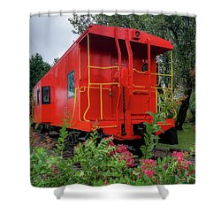 Gretna Railroad Park Shower Curtain