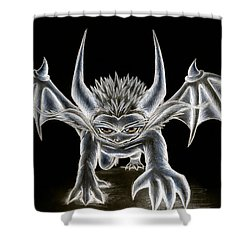 Grevil Pastel Shower Curtain by Shawn Dall