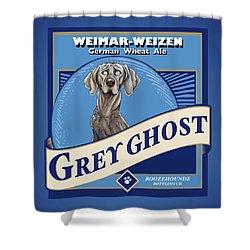 Grey Ghost Weimar-weizen Wheat Ale Shower Curtain