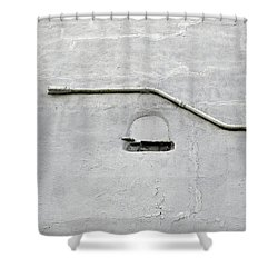 Grey Matter Shower Curtain by Ethna Gillespie