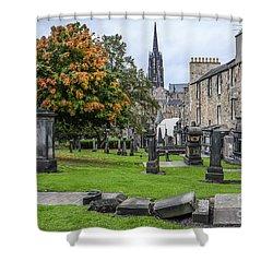 Greyfriars Kirkyard 1562  Shower Curtain