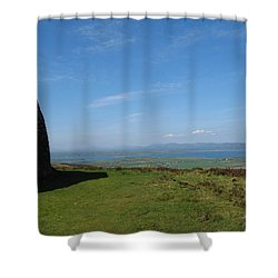 Grianan Of Aileach Shower Curtain