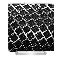 Shower Curtain featuring the photograph Grid by Kristin Elmquist
