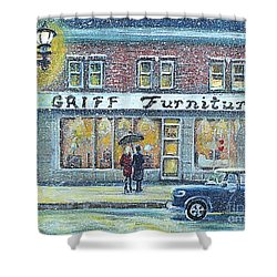 Griff Furniture Shower Curtain