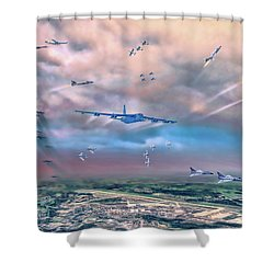 Griffiss Afb Rome Ny Shower Curtain
