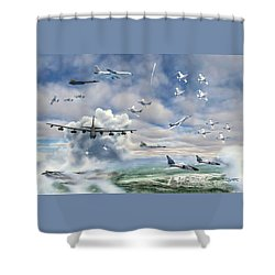 Griffiss Air Force Base Shower Curtain