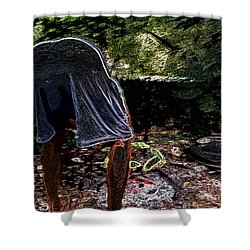 Grilling Out Shower Curtain